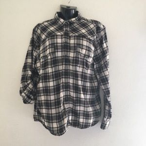 🦋 Jachs Girlfriend Bea Plaid Long Sleeve